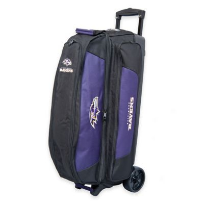 NFL Baltimore Ravens Triple Roller Bowling Bag