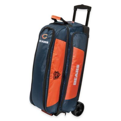 NFL Chicago Bears Triple Roller Bowling Bag