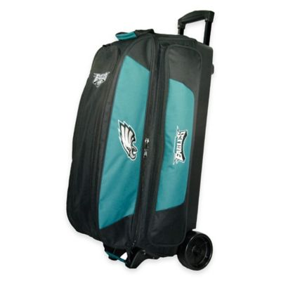 NFL Philadelphia Eagles Triple Roller Bowling Bag