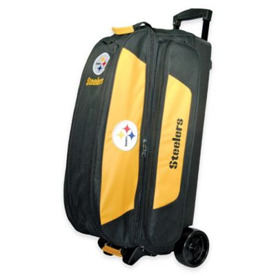 NFL Pittsburgh Steelers Triple Roller Bowling Bag