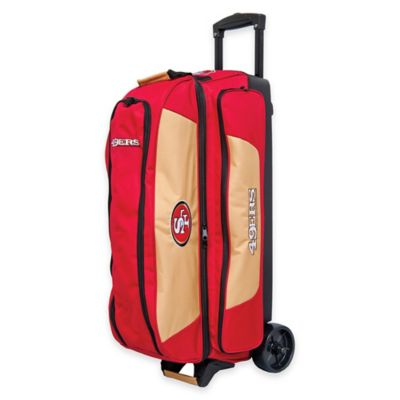 NFL San Francisco 49ers Triple Roller Bowling Bag