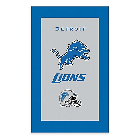 Buy Nfl Detroit Lions Bowling Towel From Bed Bath Amp Beyond