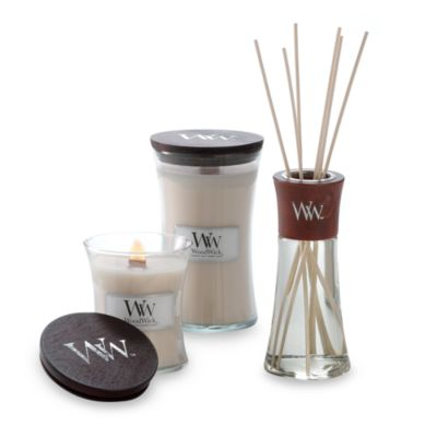WoodWick® Vanilla Bean 10-Ounce Jar Candle