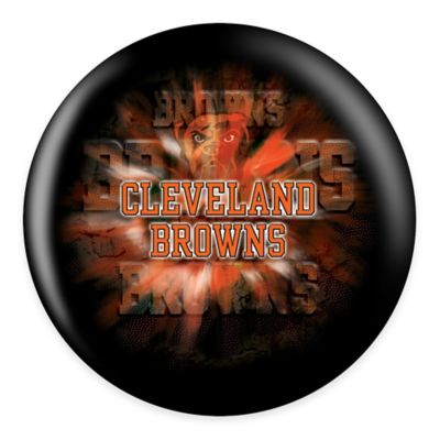 NFL Cleveland Browns 15 lb. Bowling Ball