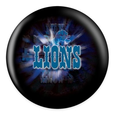 NFL Detroit Lions 8 lb. Bowling Ball