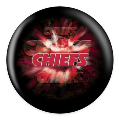 NFL Kansas City Chiefs 15 lb. Bowling Ball