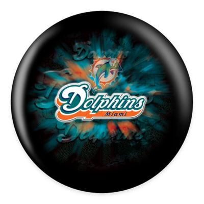 NFL Miami Dolphins 15 lb. Bowling Ball