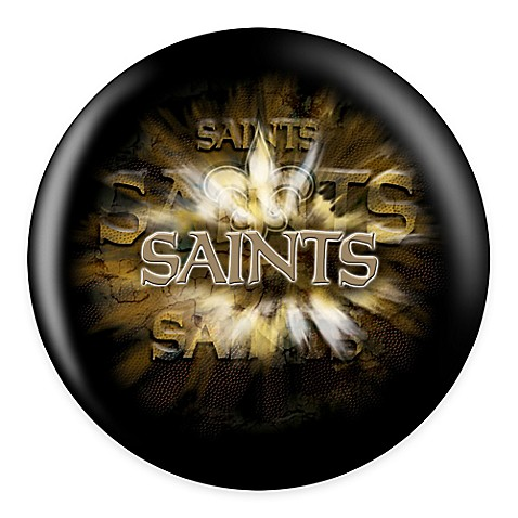 NFL New Orleans Saints 16 lb. Bowling Ball