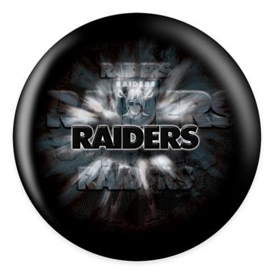 NFL Oakland Raiders 12 lb. Bowling Ball