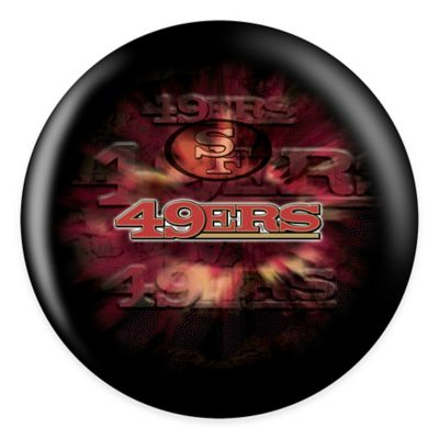 NFL San Francisco 49ers 6 lb. Bowling Ball