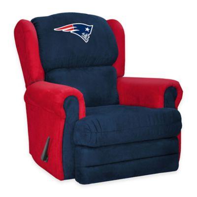 NFL New England Patriots Coach Recliner