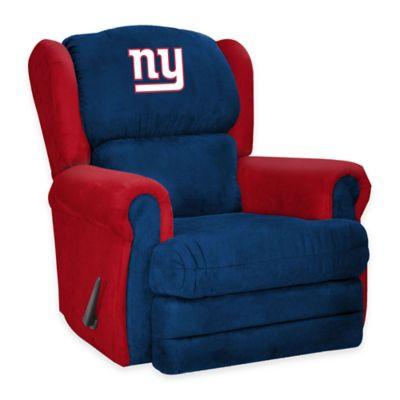 NFL New York Giants Coach Recliner
