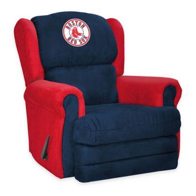 MLB Boston Red Sox Coach Recliner