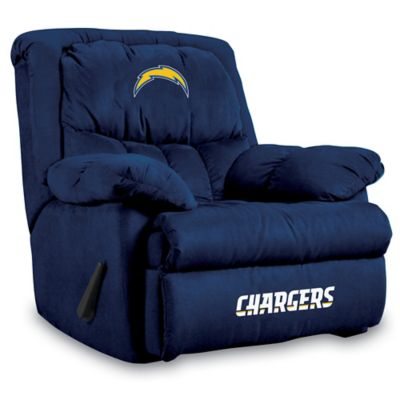 NFL San Diego Chargers Microfiber Home Team Recliner