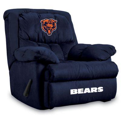 NFL Chicago Bears Microfiber Home Team Recliner