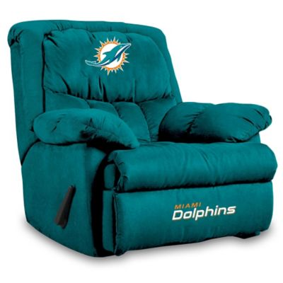 NFL Miami Dolphins Microfiber Home Team Recliner