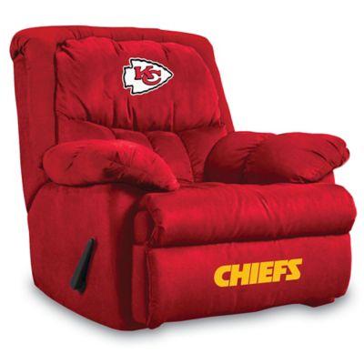 NFL Kansas City Chiefs Microfiber Home Team Recliner