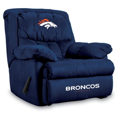 NFL Denver Broncos Microfiber Home Team Recliner