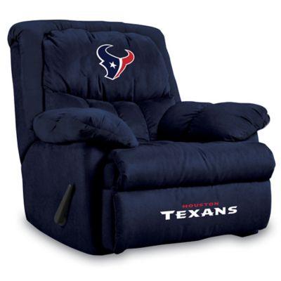 NFL Houston Texans Microfiber Home Team Recliner