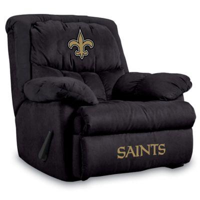 NFL New Orleans Saints Microfiber Home Team Recliner