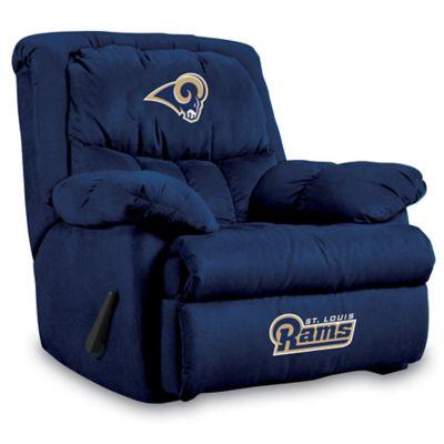 NFL St. Louis Rams Microfiber Home Team Recliner