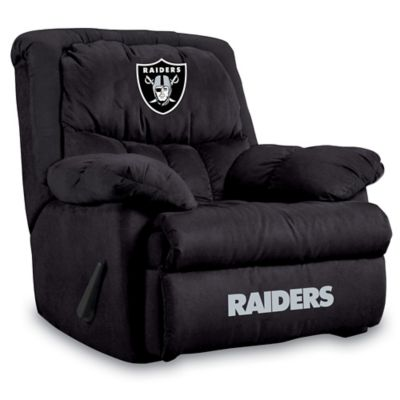 NFL Oakland Raiders Microfiber Home Team Recliner