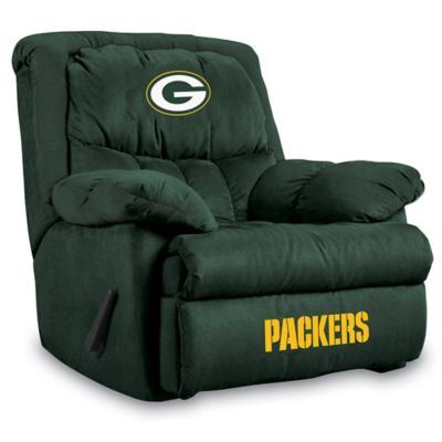 NFL Green Bay Packers Microfiber Home Team Recliner