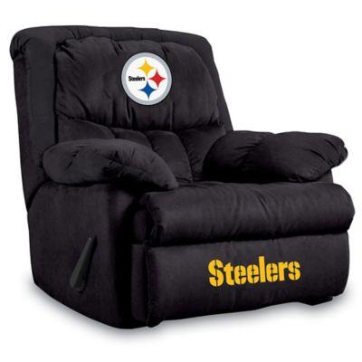NFL Pittsburgh Steelers Microfiber Home Team Recliner