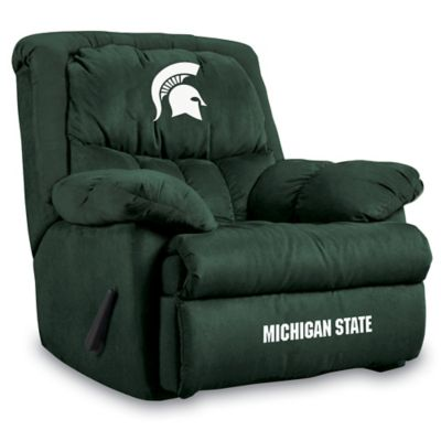 Michigan State University Microfiber Home Team Recliner