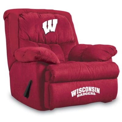 University of Wisconsin Microfiber Home Team Recliner