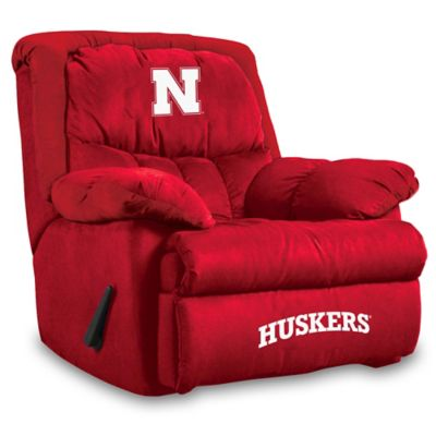 University of Nebraska Microfiber Home Team Recliner