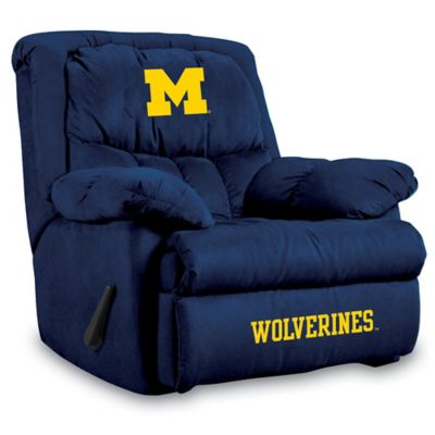 University of Michigan Microfiber Home Team Recliner