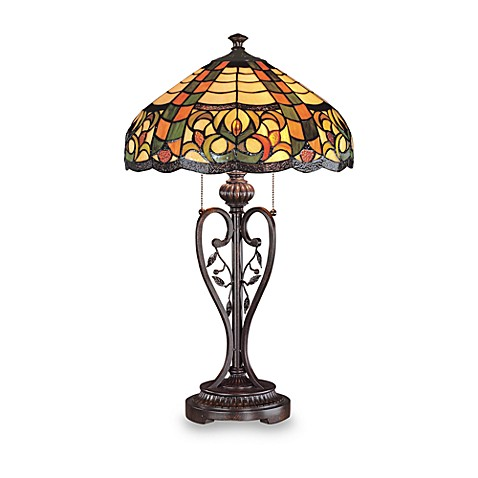 Lite Source Phenatry Tiffany Table Lamp