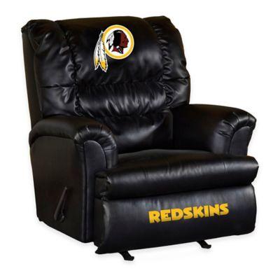 NFL Washington Redskins Leather Big Daddy Recliner