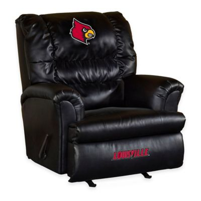 University of Louisville Leather Big Daddy Recliner