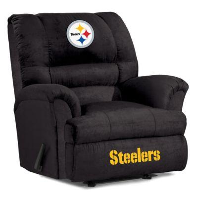 NFL Pittsburgh Steelers Microfiber Big Daddy Recliner