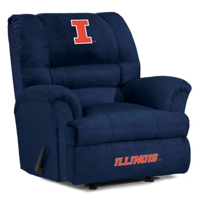 University of Illinois Big Daddy Microfiber Recliner