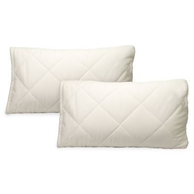 Greenbuds Organic Cotton Quilted Pillow Cover/Protector