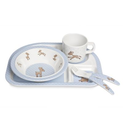 Lassig Lela 5-Piece Dish Set in Light Blue