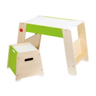 Hape Play Station and Stool Set