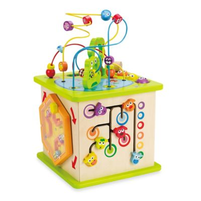 Interactive Toys > Hape Country Critters Play Cube