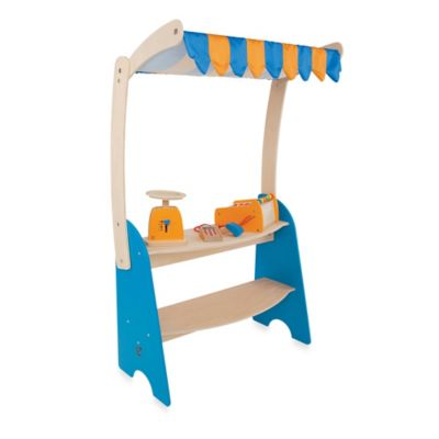 Hape Playfully Delicious Wooden Market Checkout Play Set