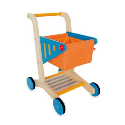 Hape Playfully Delicious Wooden Shopping Cart