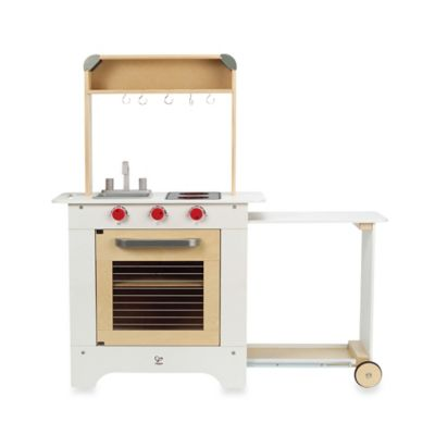 Hape Playfully Delicious Wooden Cook N' Serve Kitchen Play Set