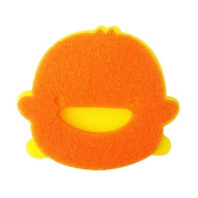 Piyo Piyo® Double Layer Bath Sponge in Orange/Yellow