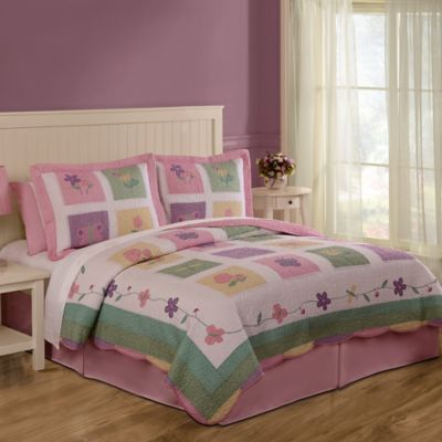 Spring Meadow Twin Quilt Set