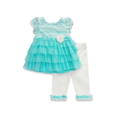 Aqua/Ivory Baby & Kids