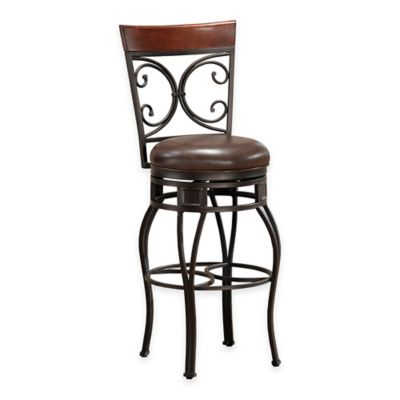 American Heritage Treviso Counter Stool in Pepper