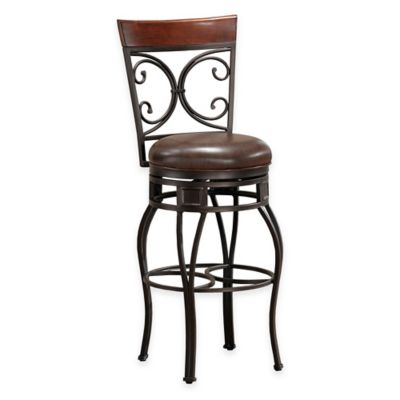 American Heritage Treviso Extra-Tall Stool in Pepper