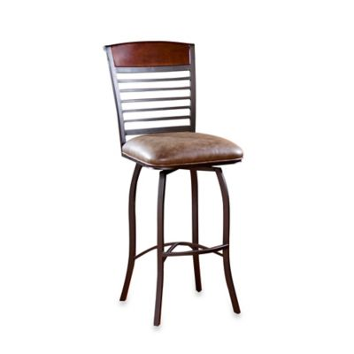 American Heritage Stefano Counter Stool in Coco